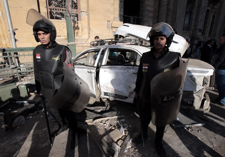 Image: Car bombing in Cairo