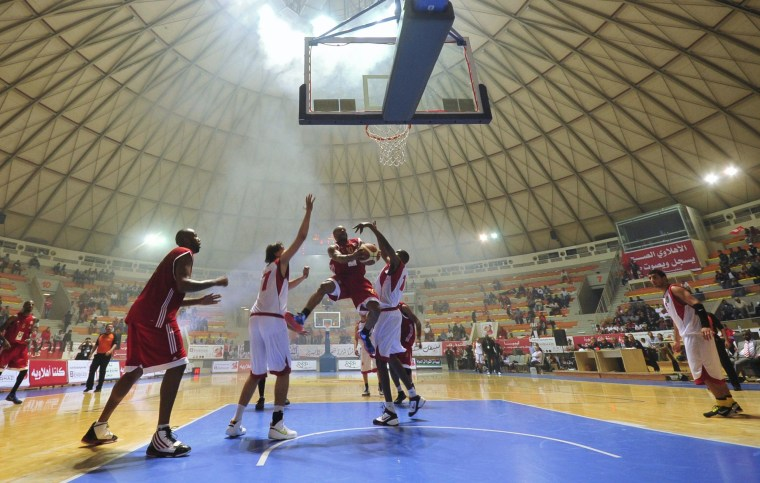 Dunks and Dodging Bullets: Americans Chase Hoop Dreams in Libya