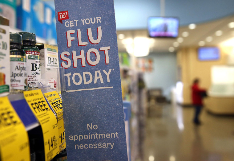 Image: Flu Outbreak Continues In Bay Area