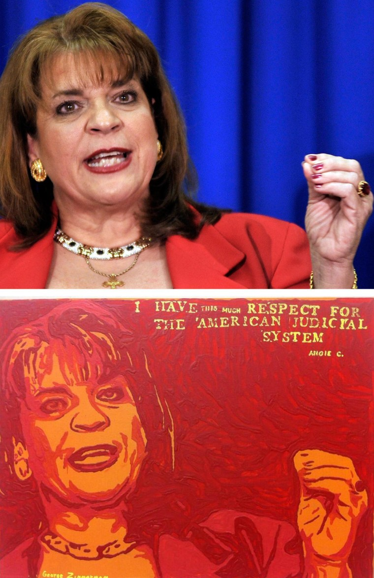 Image: AP photo and Zimmerman painting