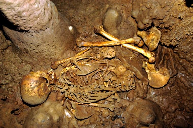 Image: La Brana 1 skeleton