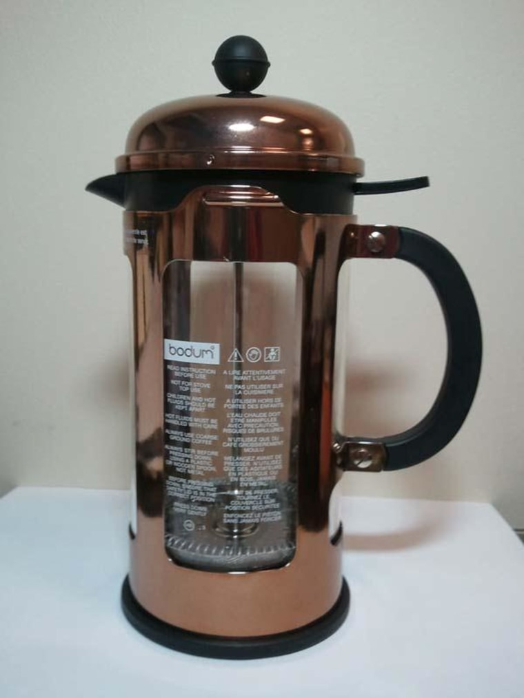 Image: Bodum USA is recalling these coffee presses sold at Starbucks