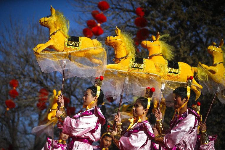 Image: Chinese New Year performance