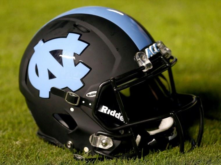 Image: North Carolina football helmet