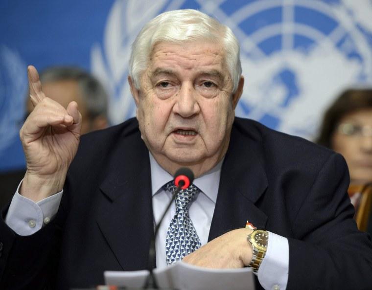 Image: Geneva Syria peace talks