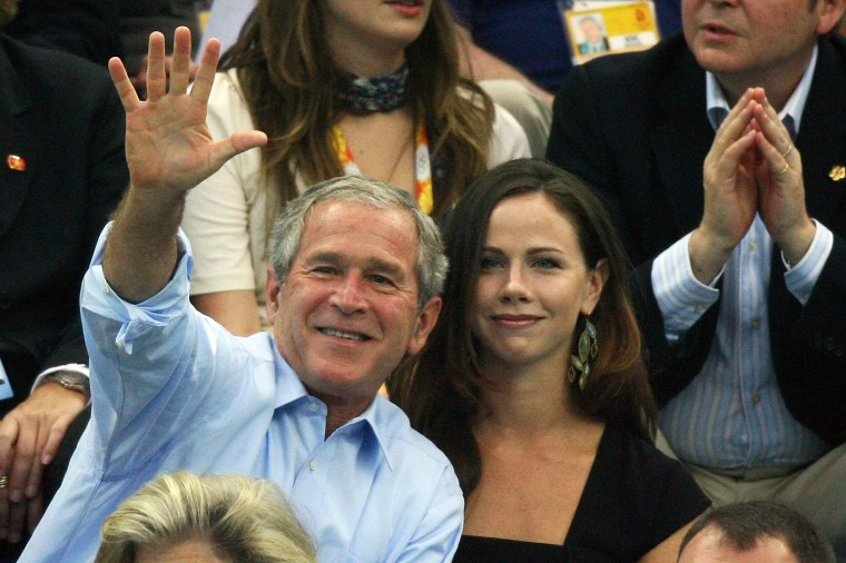 Image: George W. Bush, Barbara Bush
