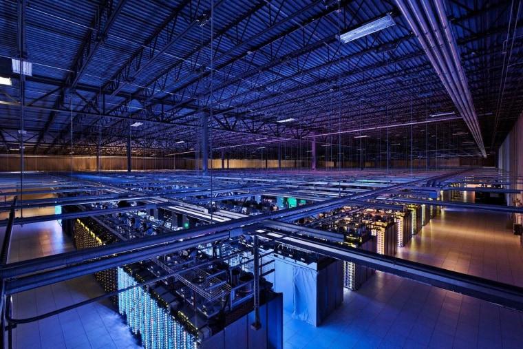 Image: A Google data center
