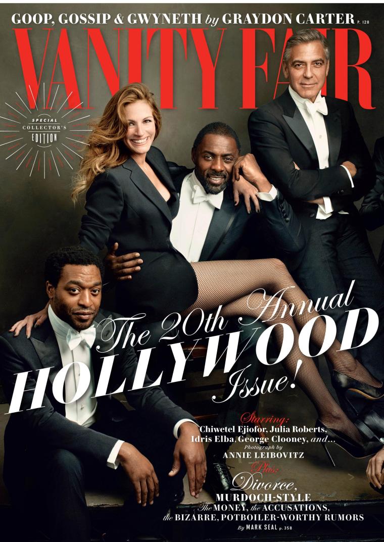 Image: Vanity fair cover