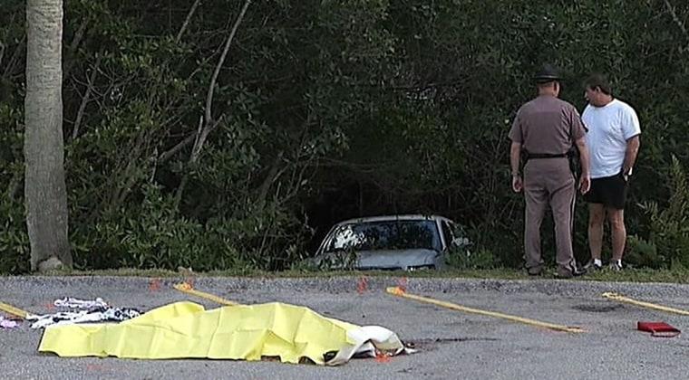 IMAGE: Fatal traffic accident scene in Bradenton, Fla.