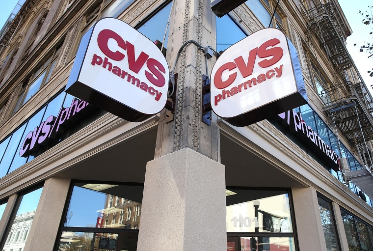 A CVS pharmacy on Nov. 5, 2013 in San Francisco, California.