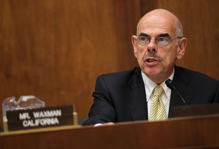 Image: FILE: Rep. Henry Waxman To Retire