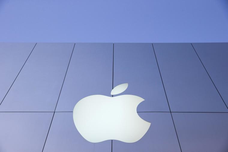 Image: An Apple logo