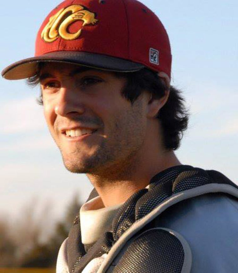Image: Christopher Lane, an Australian baseball player who was shot and killed while out for a jog in an Oklahoma neighborhood.