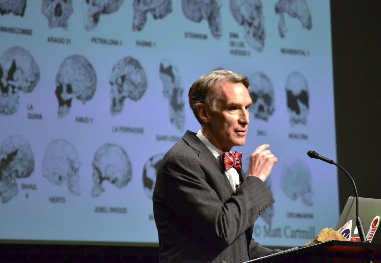 Bill Nye Wins Over the Science Crowd at Evolution Debate