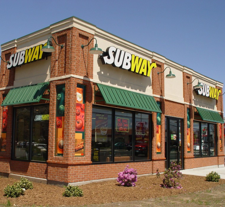 SUBWAY RESTAURANTS BRAND OF THE YEAR