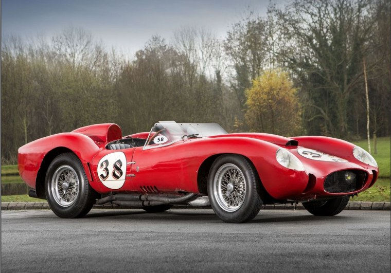 A 1957 Ferrari Testa Rossa recently sold in the U.K. for $40 million, according to people close to the deal.