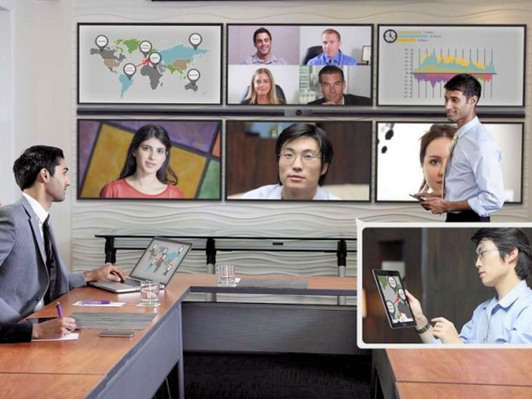 Vidyo Google+ Hangouts for the office.