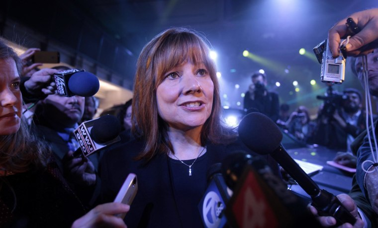 GM's Chief Executive Officer Mary Barra was named the world's most powerful woman in business by Fortune magazine