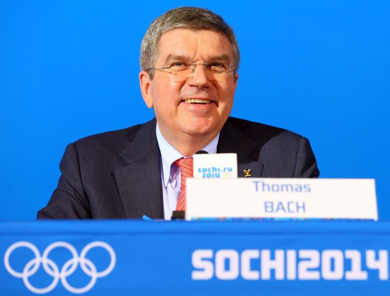 Image: IOC Press Conference
