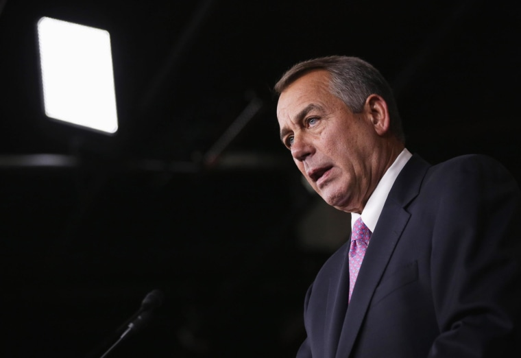 Image: BESTPIX   John Boehner Holds Media Briefing At The Capitol