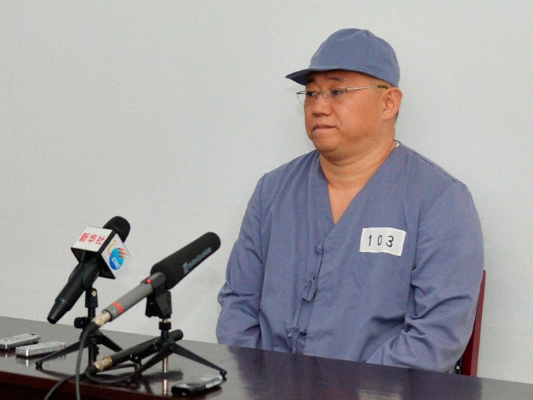 North Korea Sends Kenneth Bae Back to Labor Camp