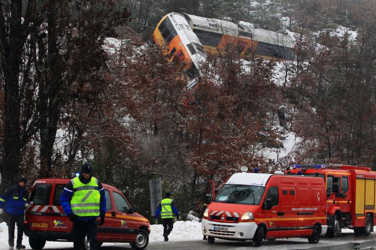 Image: FRANCE-RAIL-ACCIDENT