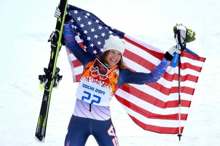 Image: Alpine Skiing - Winter Olympics Day 3