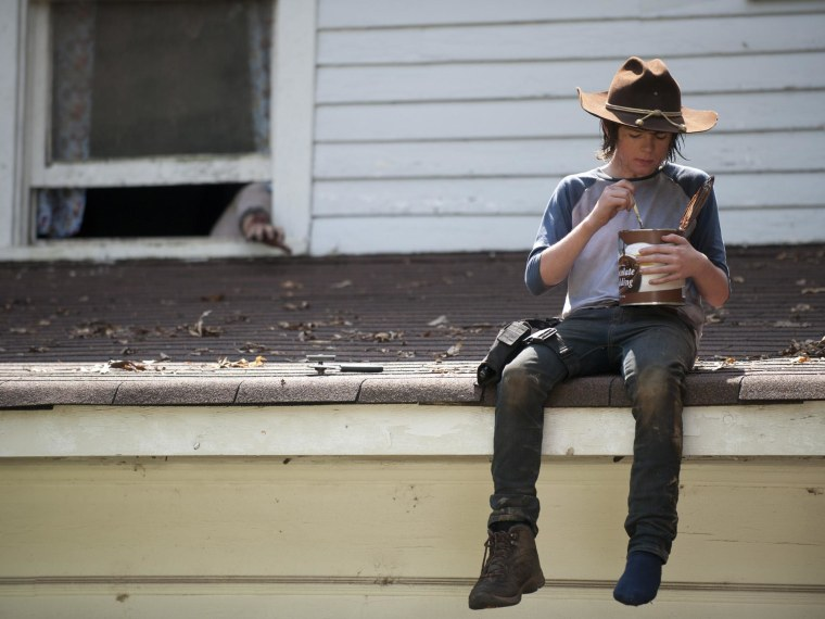 'Walking Dead' Fans Have Had Enough of Carl, His Vat of Pudding