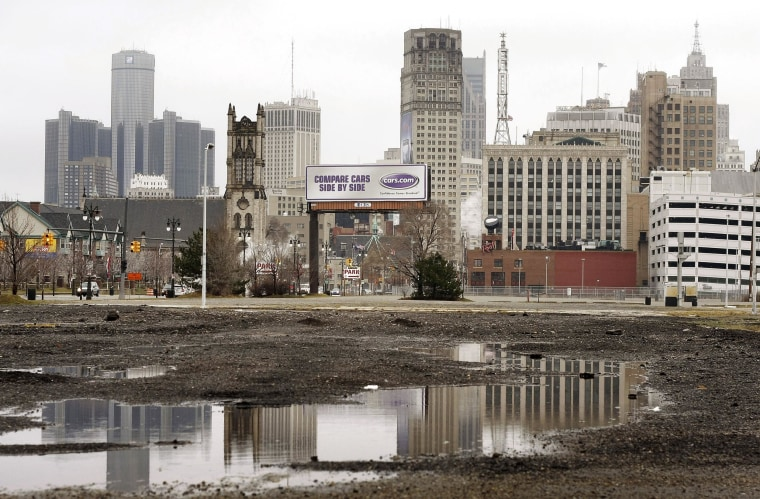 City of Detroit, more than $18 billion in debt, says it will file a plan next week on how it will emerge from bankruptcy.