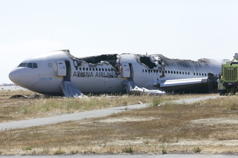 Image: Asiana Airlines flight 214
