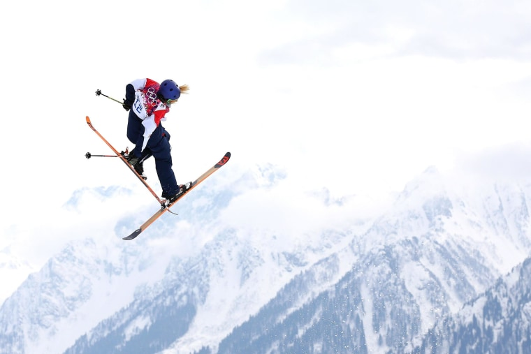 Image: Freestyle Skiing - Winter Olympics Day 4