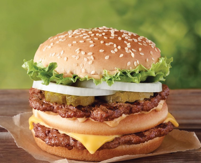 Don't reach for a Big Mac or a salad, try a smaller version of your favorite burger.