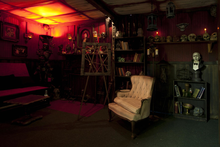 Haunted houses, such as Castle Blood in Monessen, Pa., are putting a scary spin on Valentine's Day, giving customers an alternative to chocolate and roses while boosting their bottom lines.