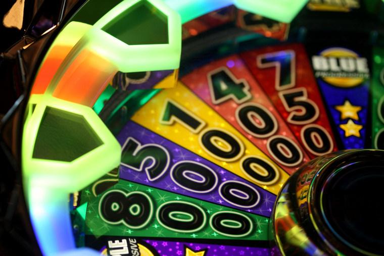 A slot machineon the floor of Sands Casino Resort Bethlehem, in Bethlehem, Pa.