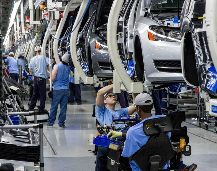Image: VW's plant in Chattanooga, Tenn.