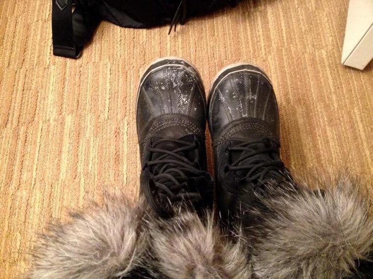 Image: Hoda's boots