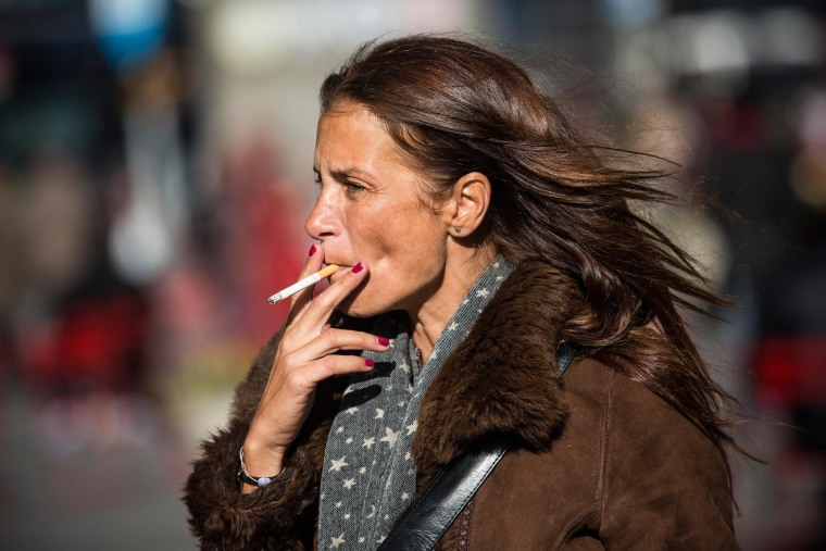 Image: Smoking Woman