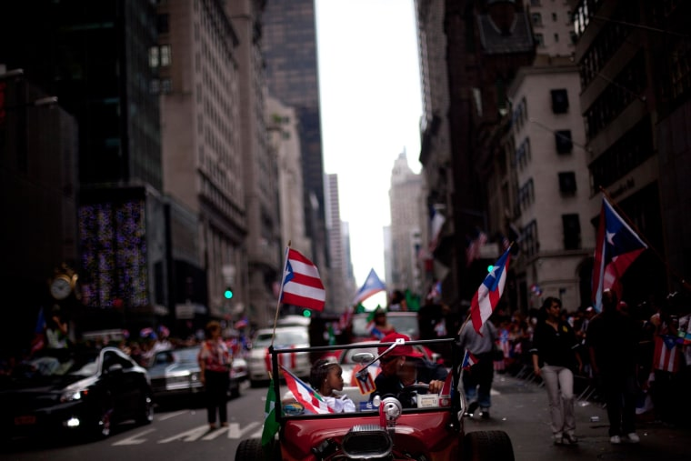 Image: Annual Puerto Rican Day Parade Held In New York City