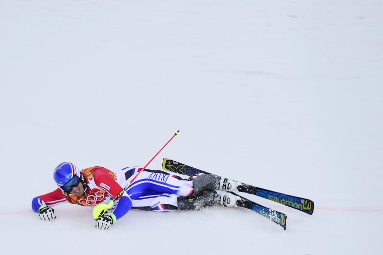 Image: OLY-2014-SKI-ALPINE-SUPERCOMBINED-MEN