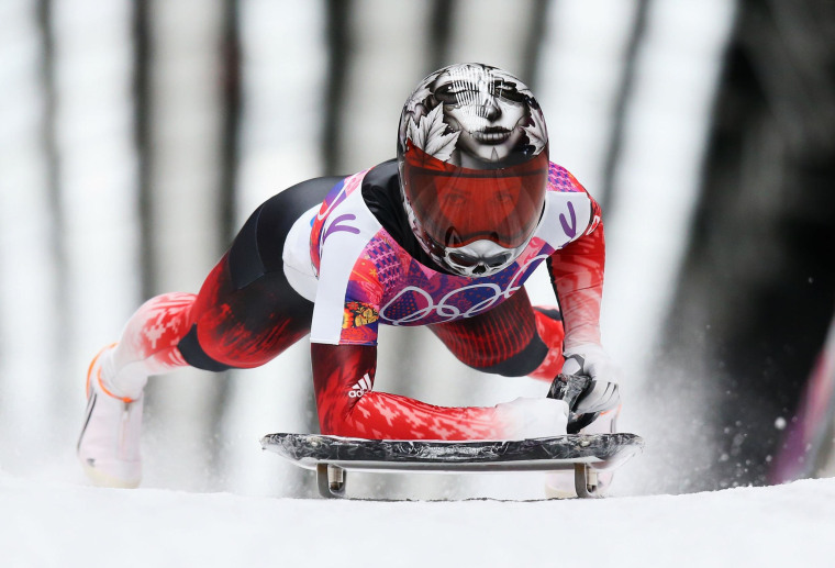 Image: Skeleton - Winter Olympics Day 7