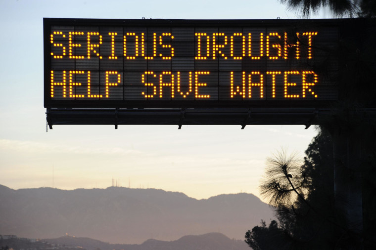 Image: US-CALIFORNIA-WATER-DROUGHT