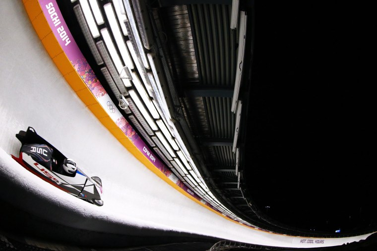 Image: Bobsleigh - Winter Olympics Day 10
