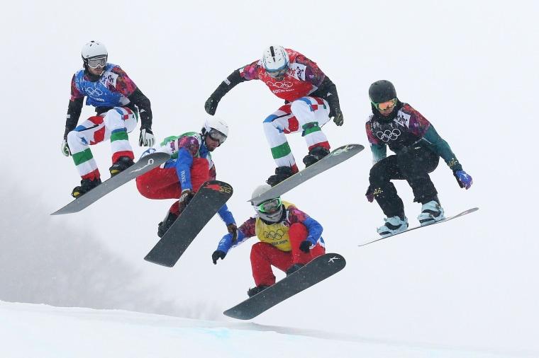 Image: Snowboard - Winter Olympics Day 11