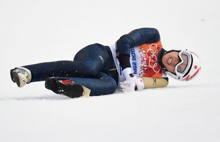 Image: Nordic Combined - Winter Olympics Day 11