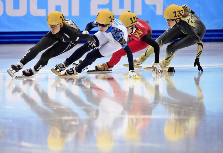 Image: Short Track Speed Skating