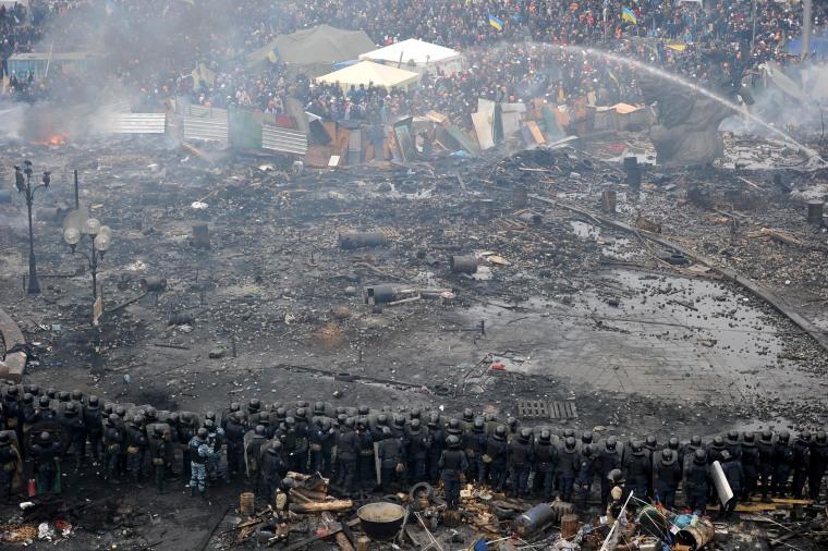 Image: Anti government protest in Ukraine