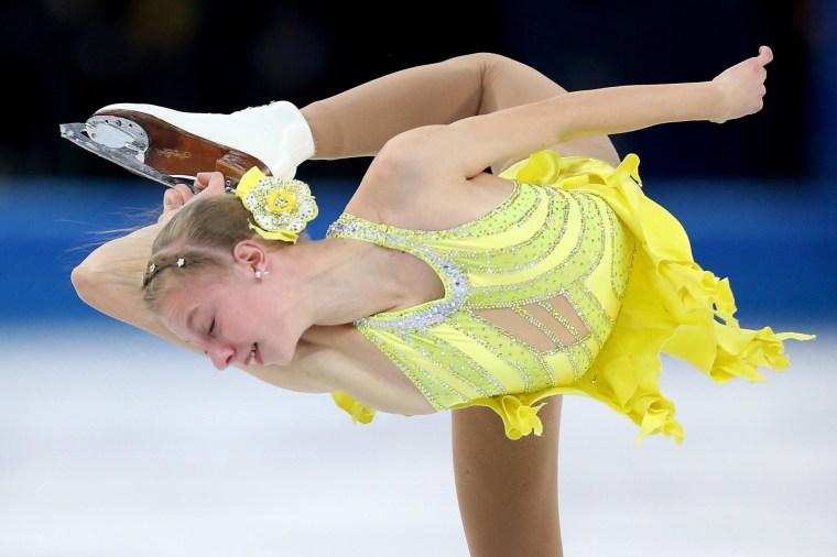 Image: Figure Skating - Winter Olympics Day 12