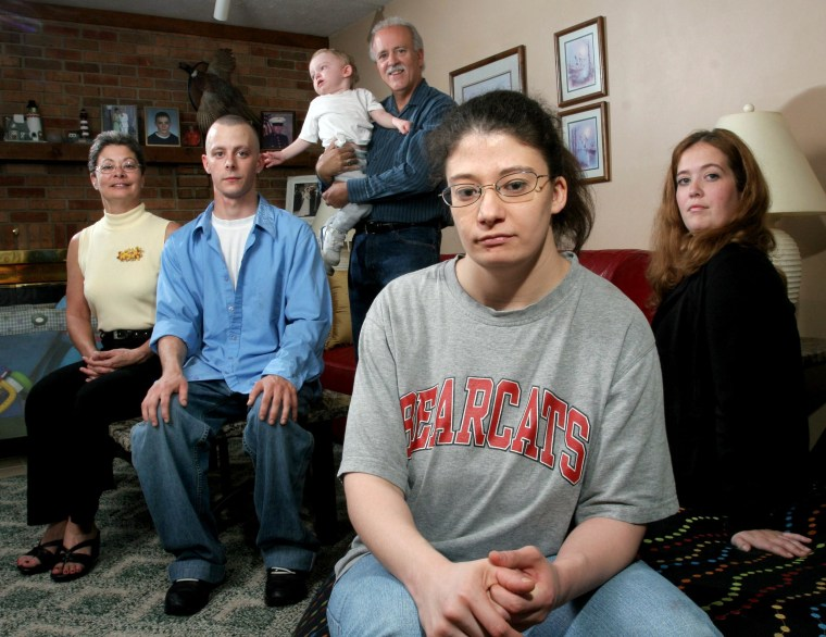 Image: The Byrons are convinced the water at Camp Lejeune, N.C. was at fault for their family's health problems.