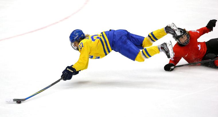 Image: Ice Hockey - Winter Olympics Day 13 - Switzerland v Sweden