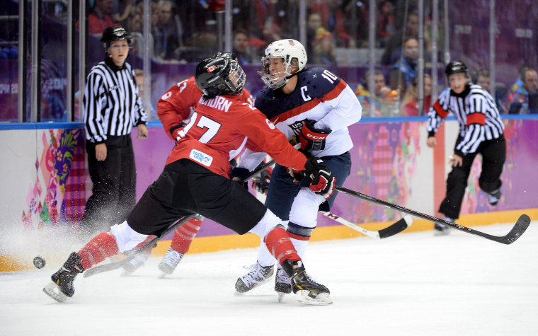 Image: Ice Hockey - Winter Olympics Day 13 - Canada v United States